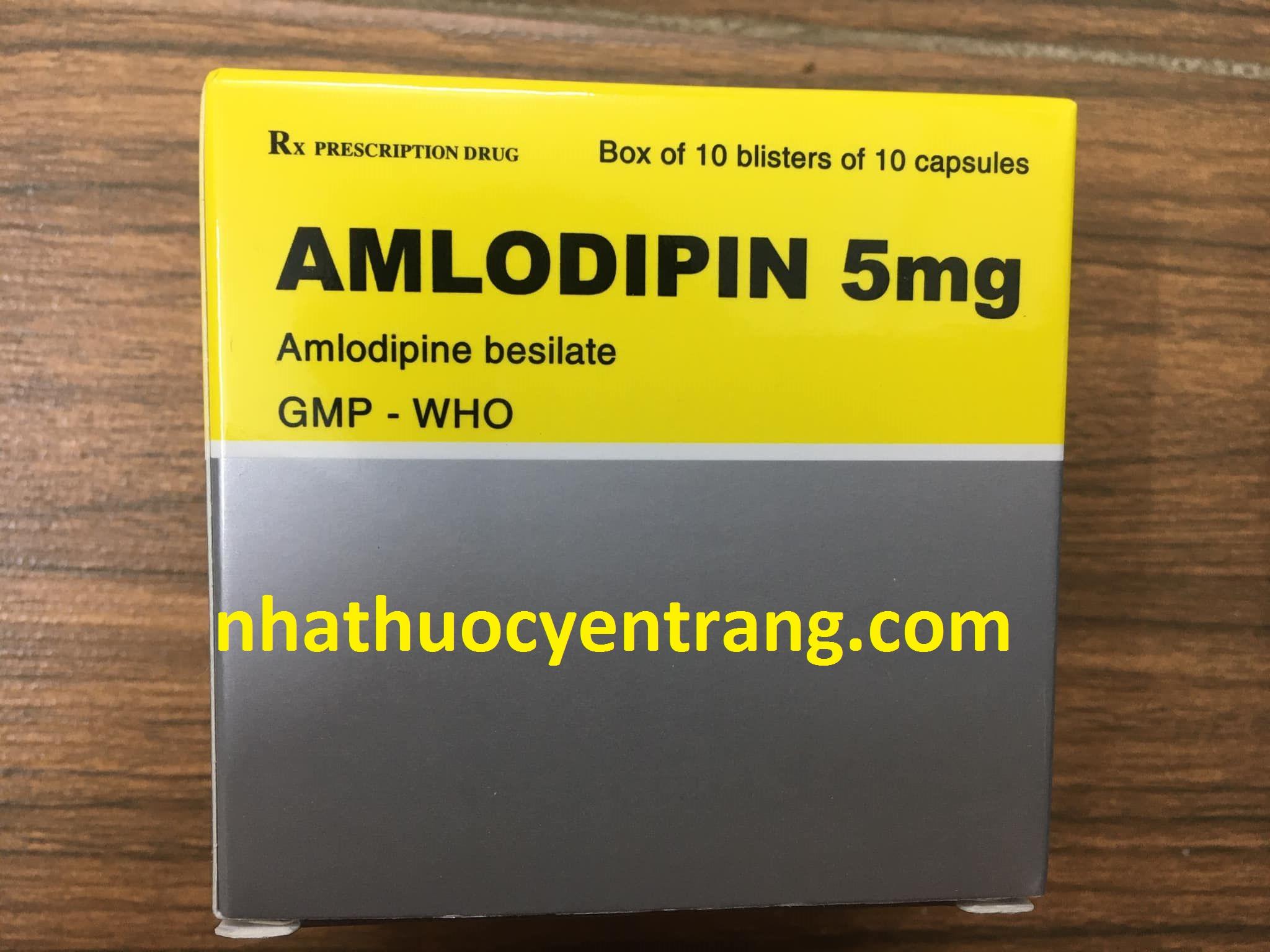 Amlodipin 5mg Vidipha