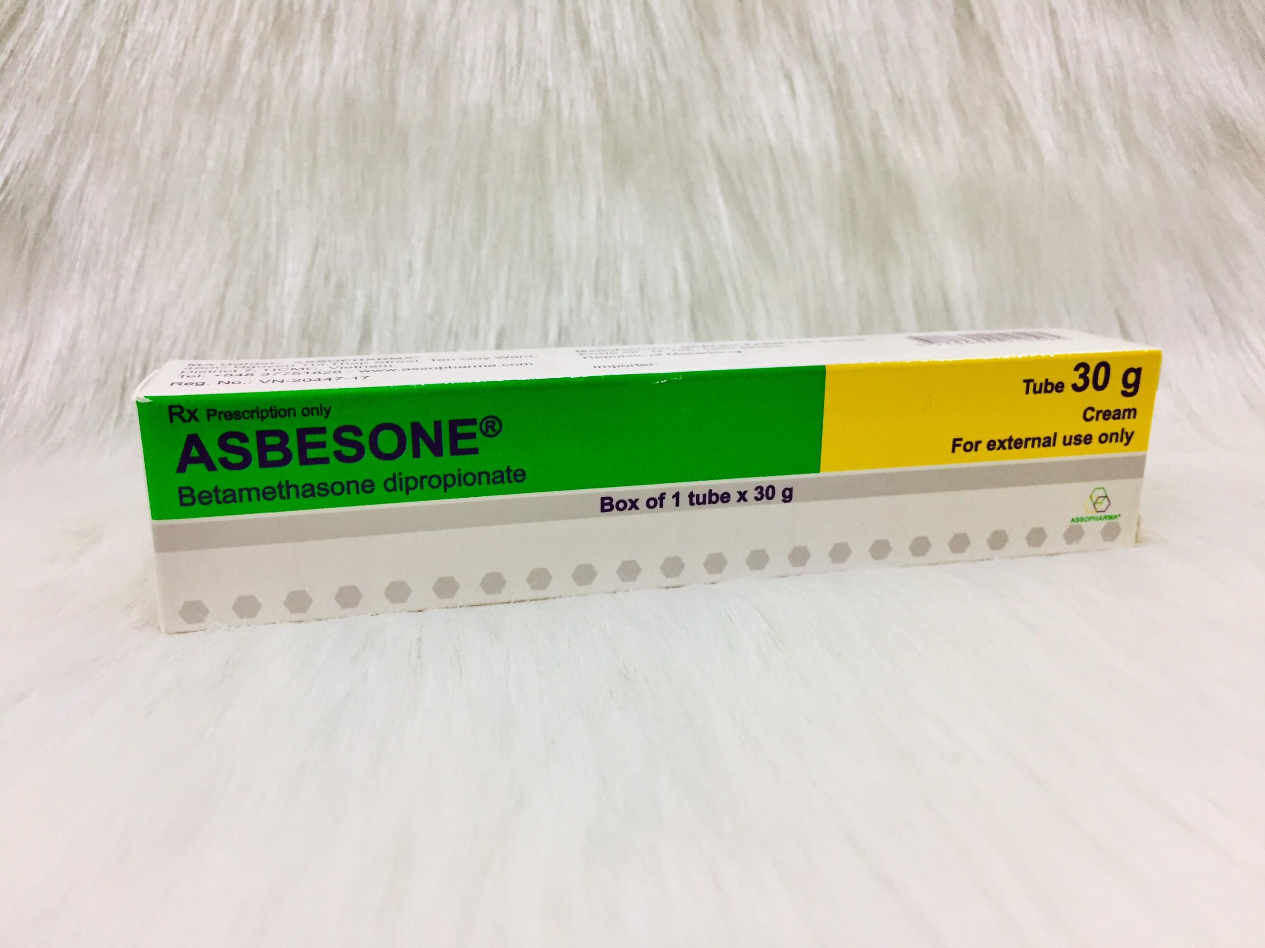Asbesone cream 30g