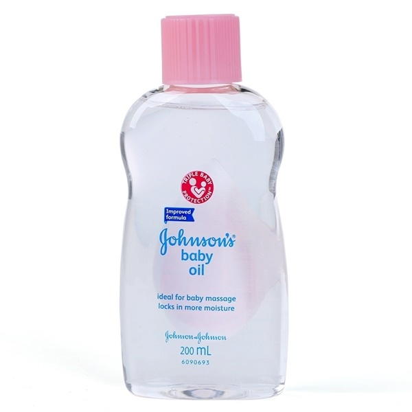 Dầu Massage Johnson's baby oil  200ml
