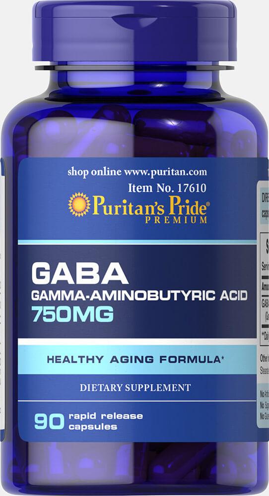 GABA 750mg Puritan's Pride