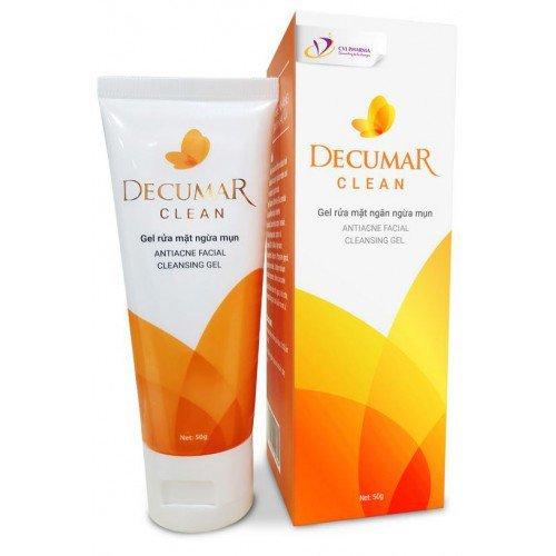 Gel Rửa Mặt Decumar Clean 50g