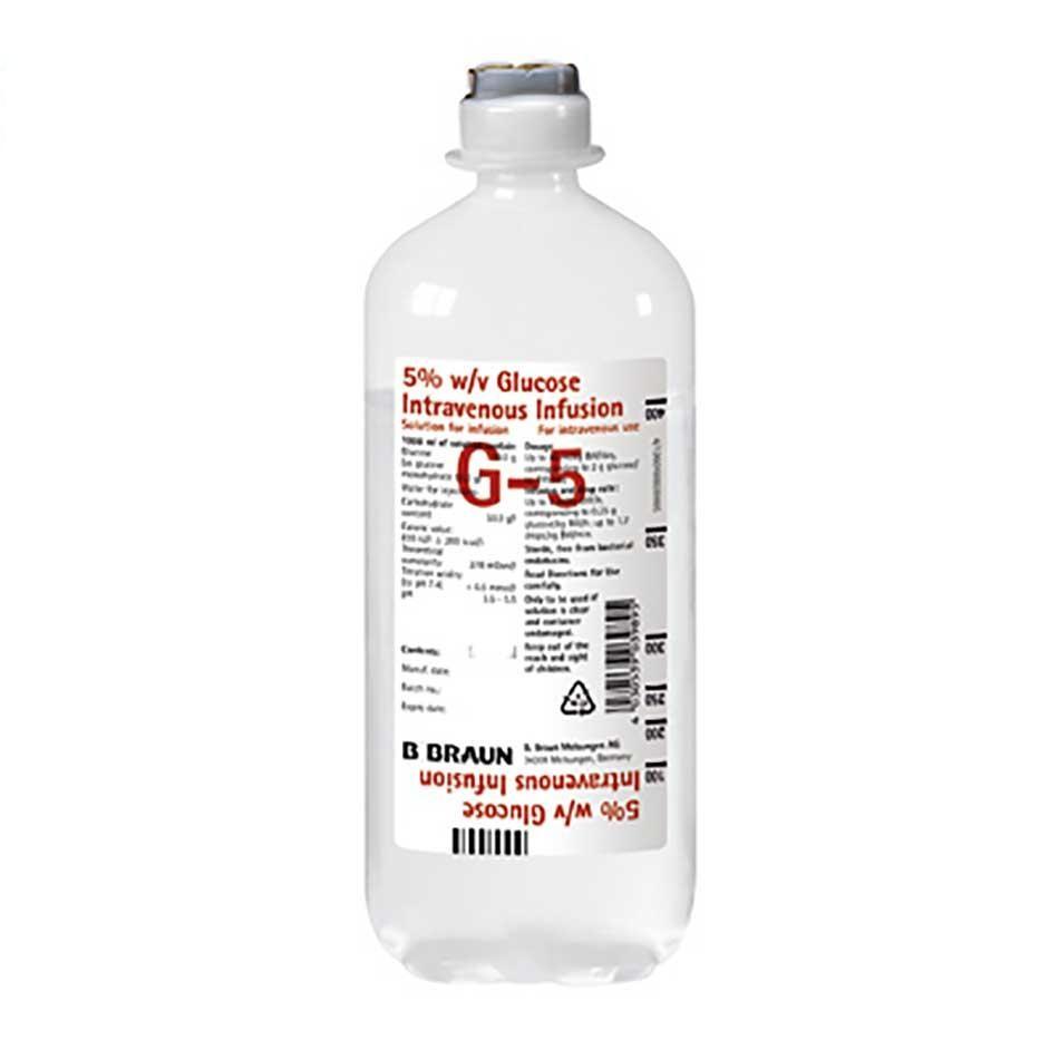 Glucose 5% 250ml B.Braun