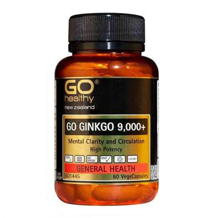 GO GINKGO 9,000+ – 60 viên