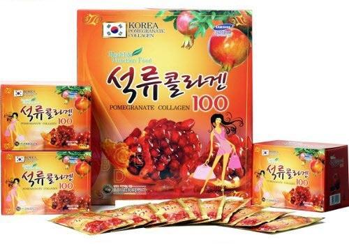 Nước lựu collagen Hàn Quốc Kangwha 80ml x 30 gói