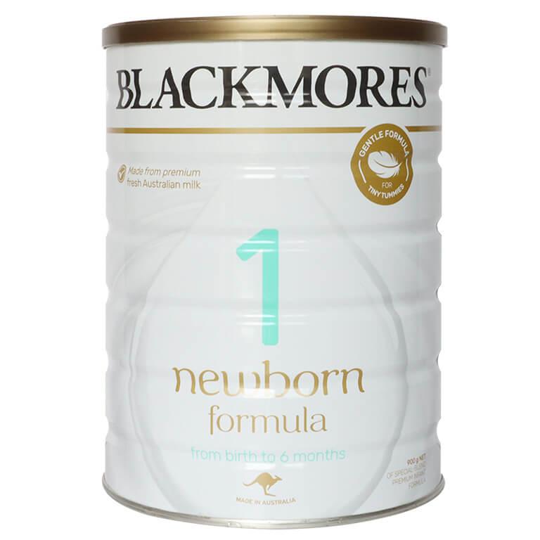 Sữa BLACKMORES Số 1 Newborn 900G Úc (trẻ từ 0-6 tháng)