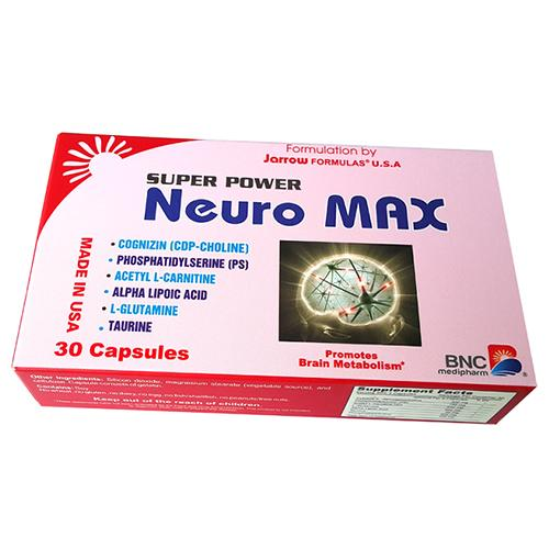 SUPER POWER NEURO MAX (vỉ)