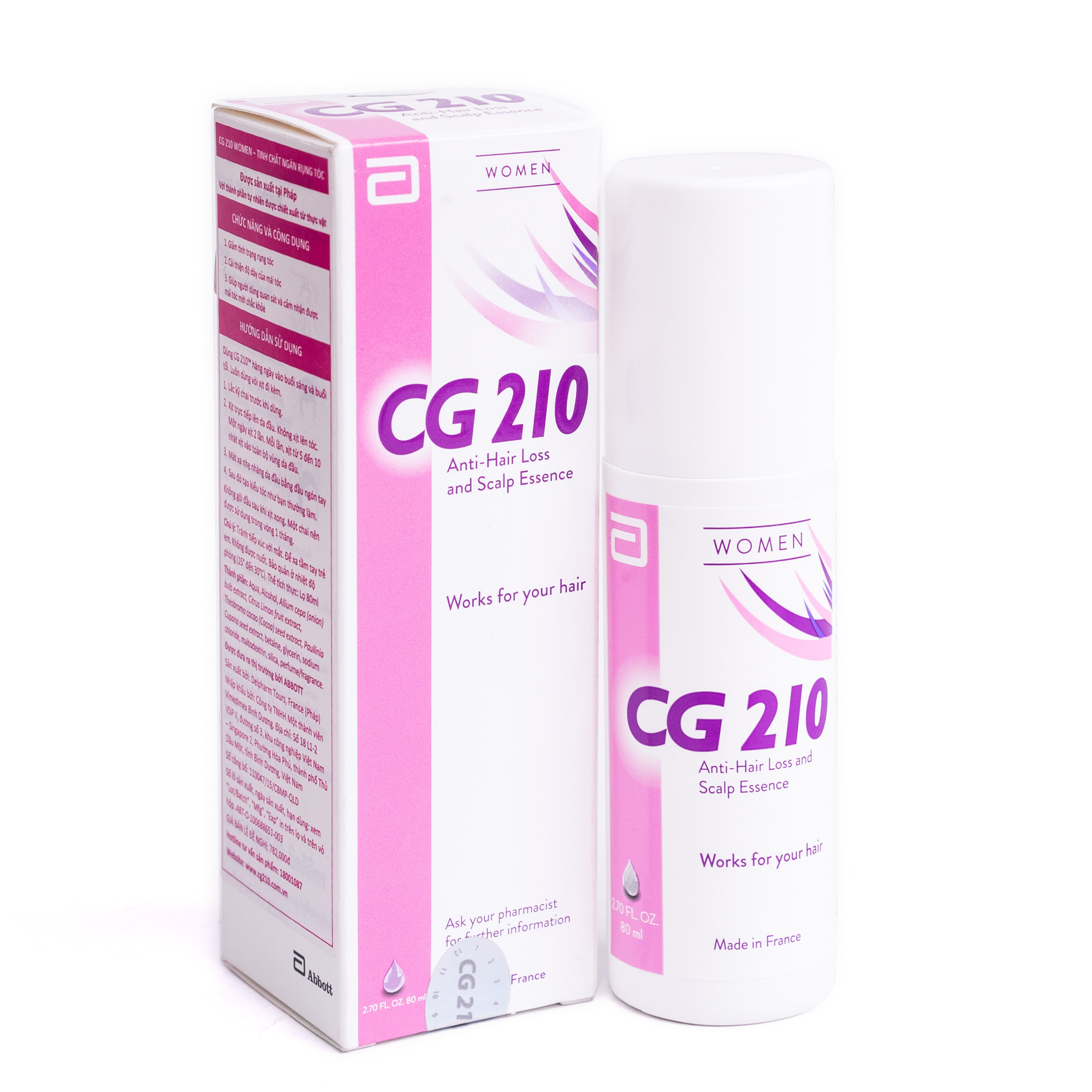 CG 210 WOMEN 80ml