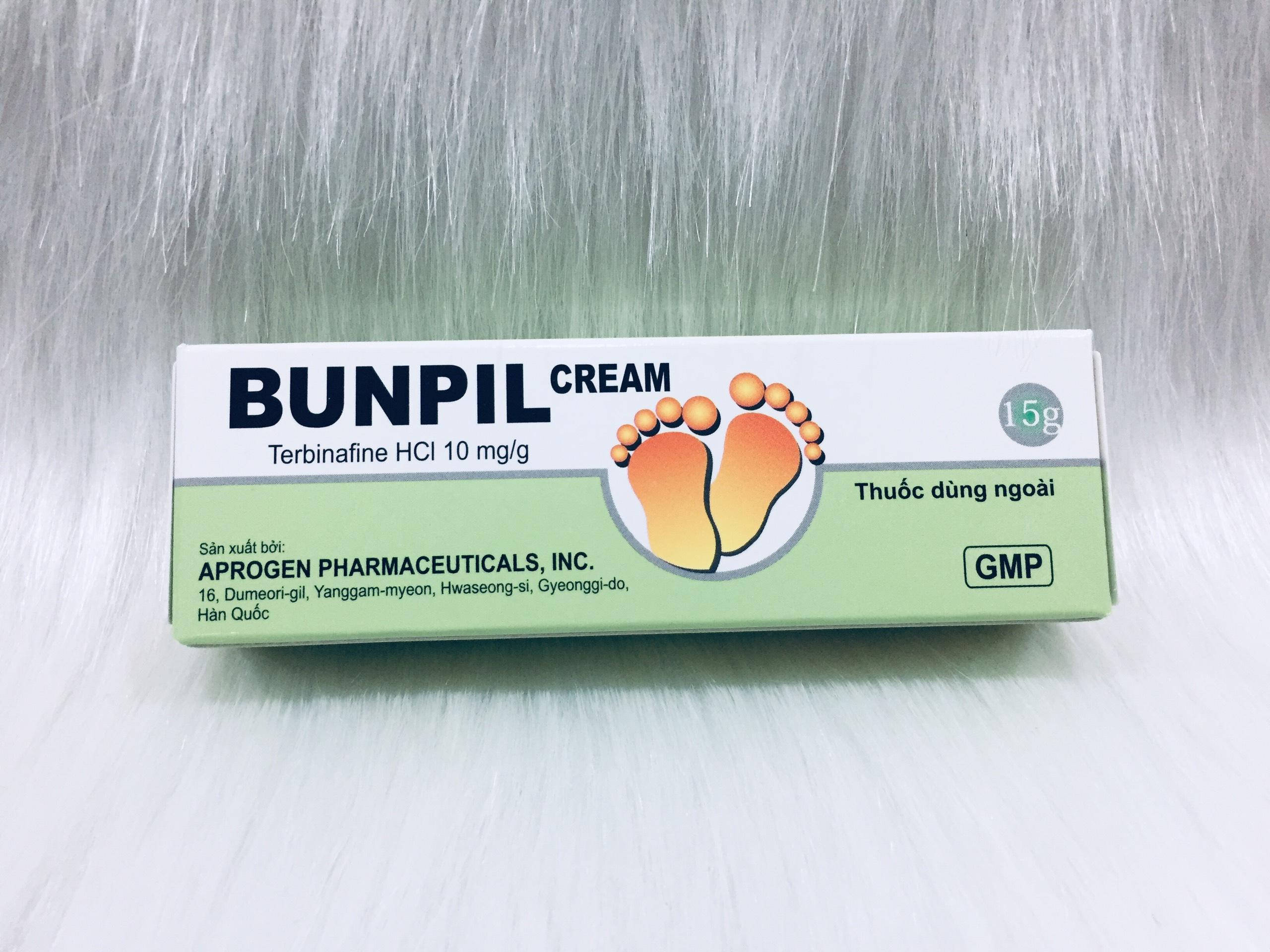 Bunpil cream