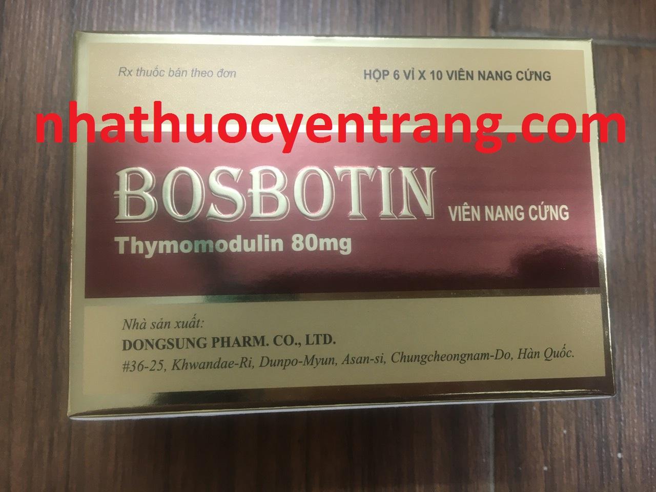 Bosbotin