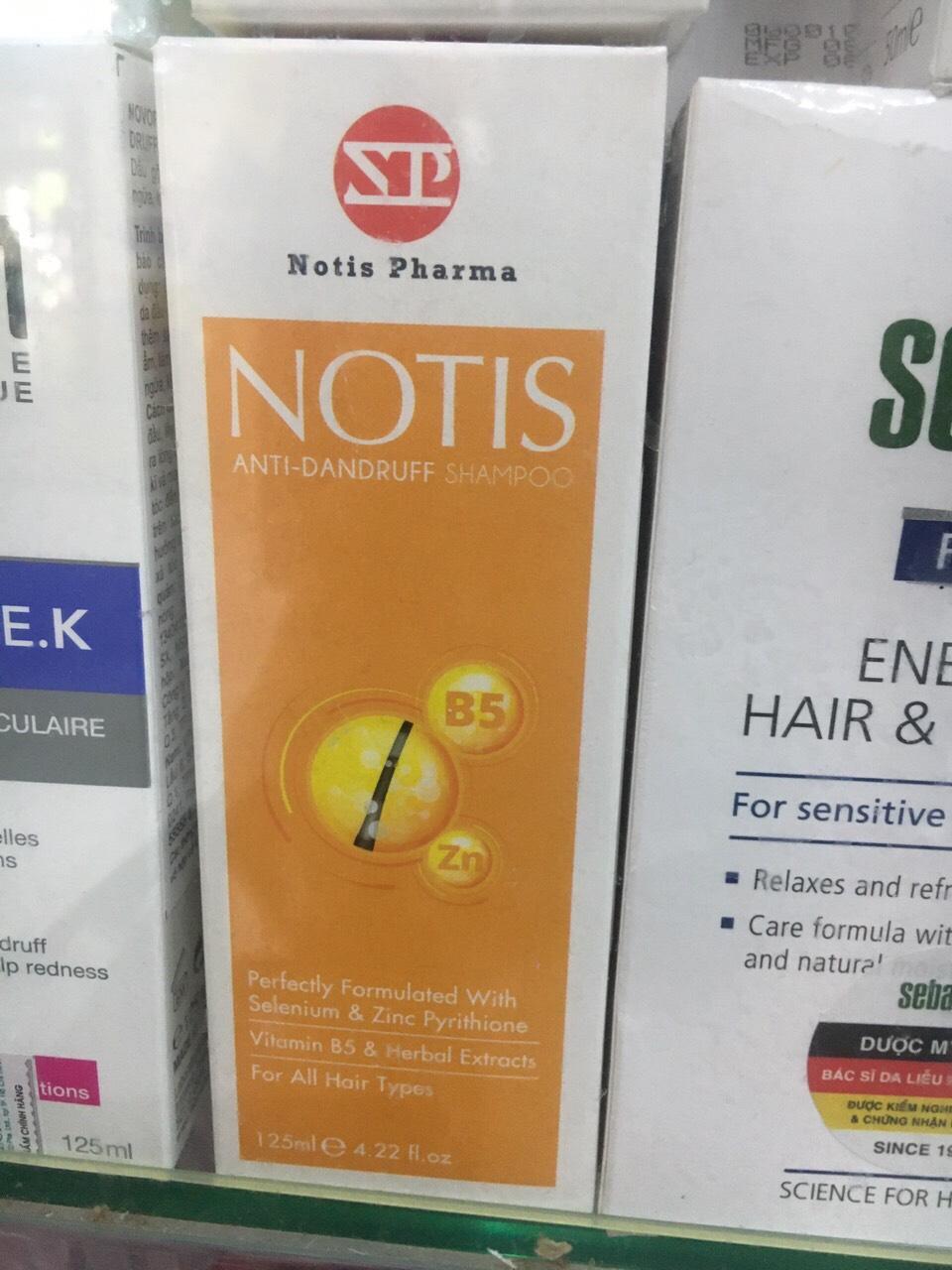 DẦU GỘI NOTIS Anti Dandruff Shampoo