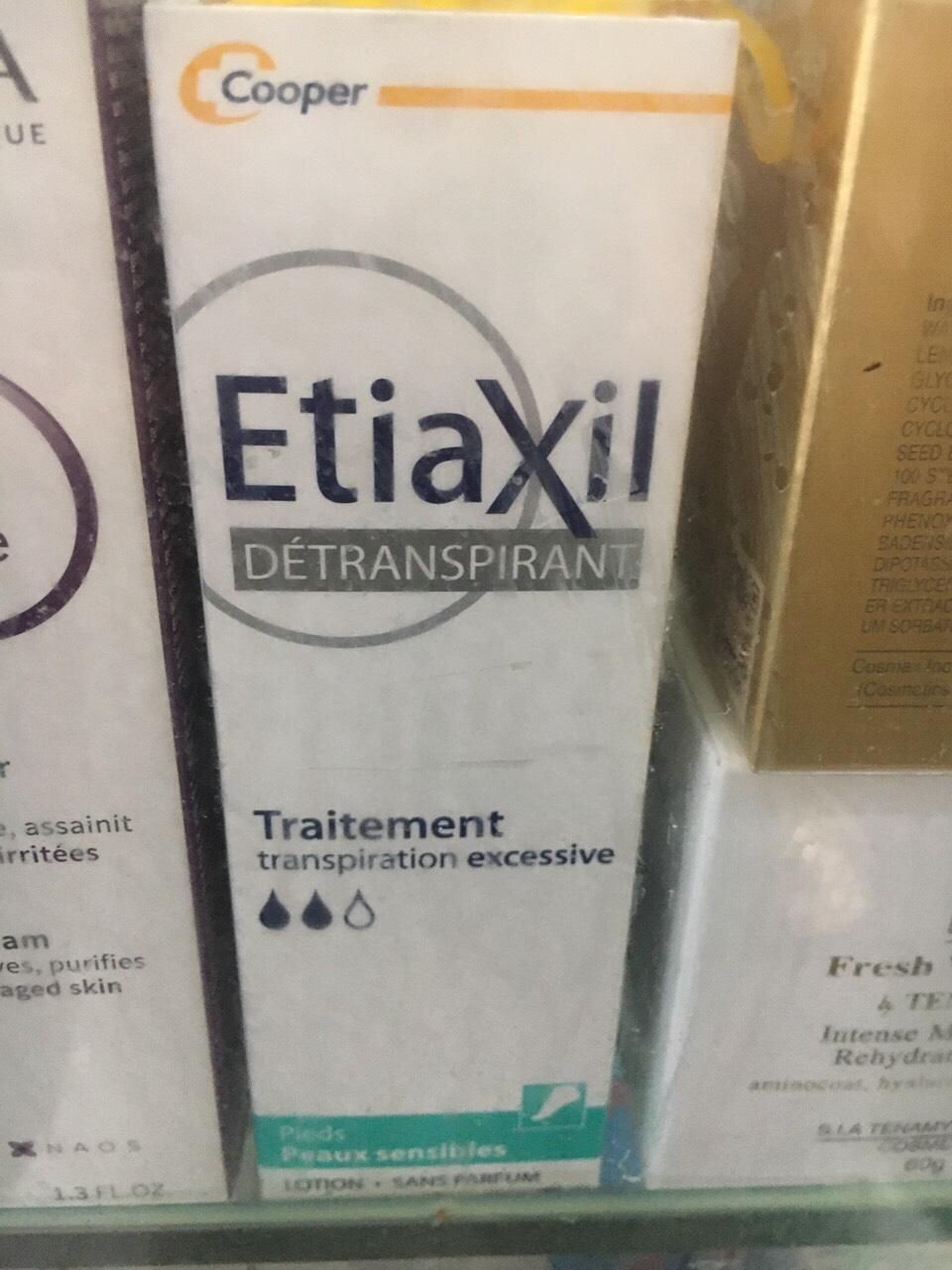 Khử Mùi Etiaxil Đặc Trị Mồ Hôi Chân100ml