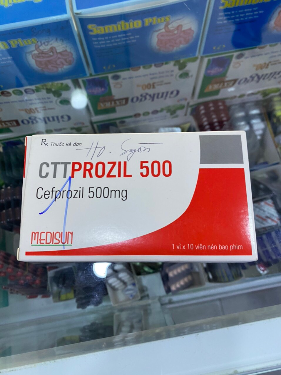 CTT Prozil 500mg