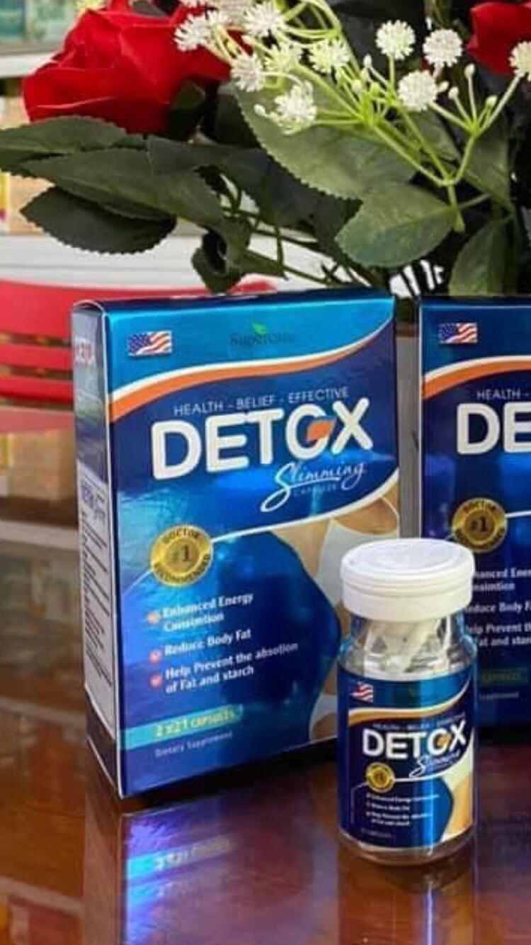 Detox Slimming Usa (2 Chai)