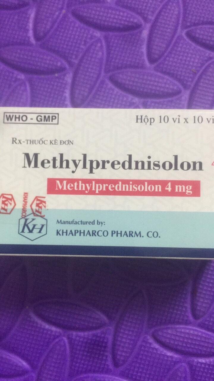 Methylprednisolon 4mg