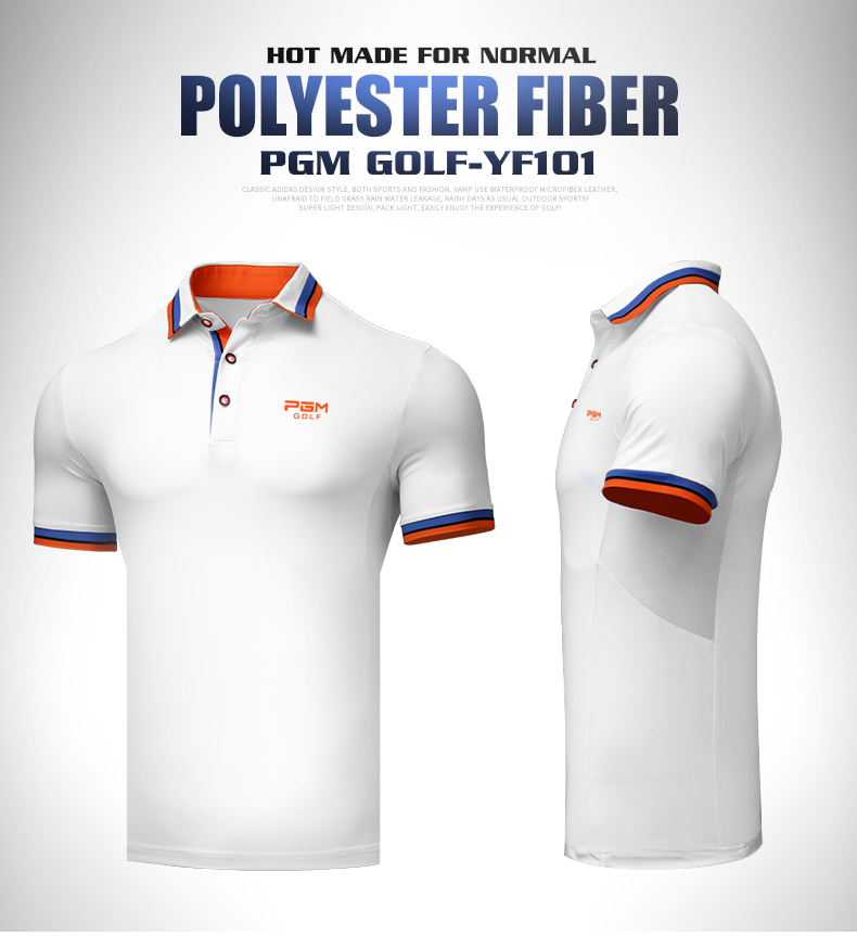 Áo golf POLO Nam PGM - YF101