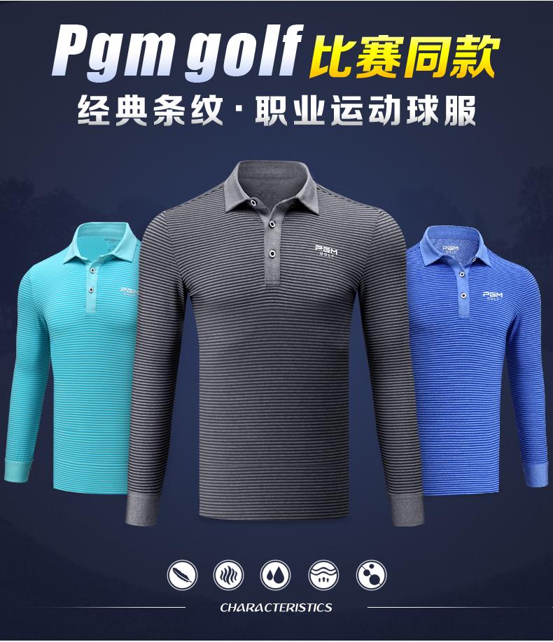 Áo golf dài tay Nam PGM - YF150