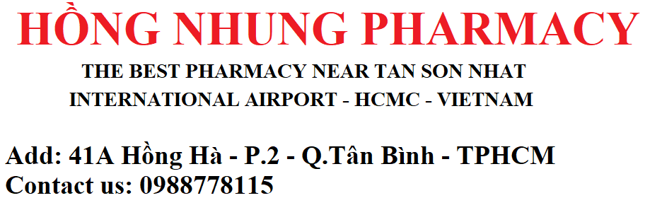 THE BEST PHARMACY NEAR HCMC TAN SON NHAT INTERNATIONAL AIRPORT