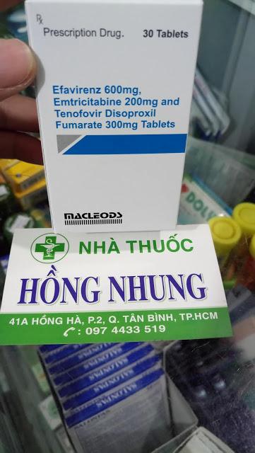 Mua thuốc ARV để điều trị HIV E.E.T của Macleods tốt nhất ở TPHCM (Sài Gòn)