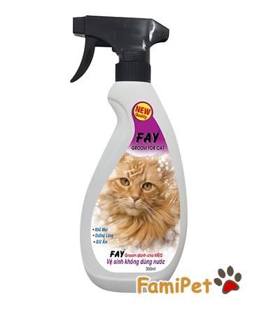 Xịt Khử Mùi Fay Groom Cho Mèo