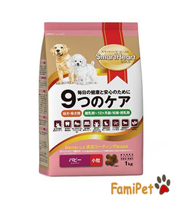 thuc-an-kho-cho-cho-con-smart-heart-gold-puppy-1kg