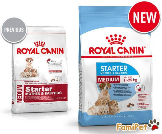 Thức Ăn Khô Royal Canin Medium Starter Mother & Babydog
