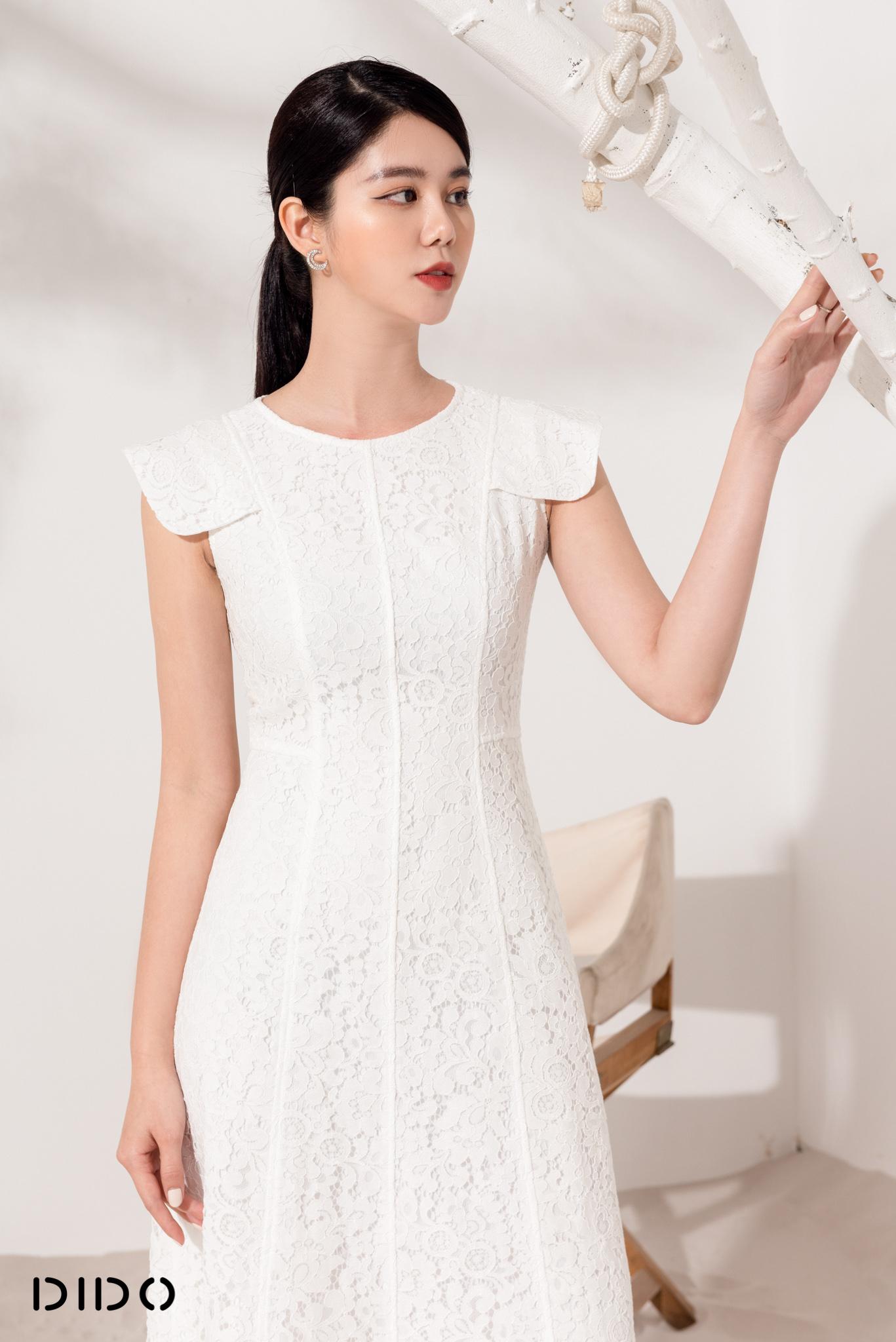 Váy Zen Gân Tay Vuông - Nữ
