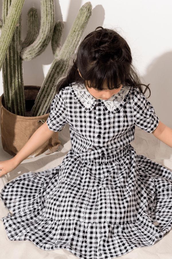 Váy Đuôi Cá Tầng - Bé Gái
