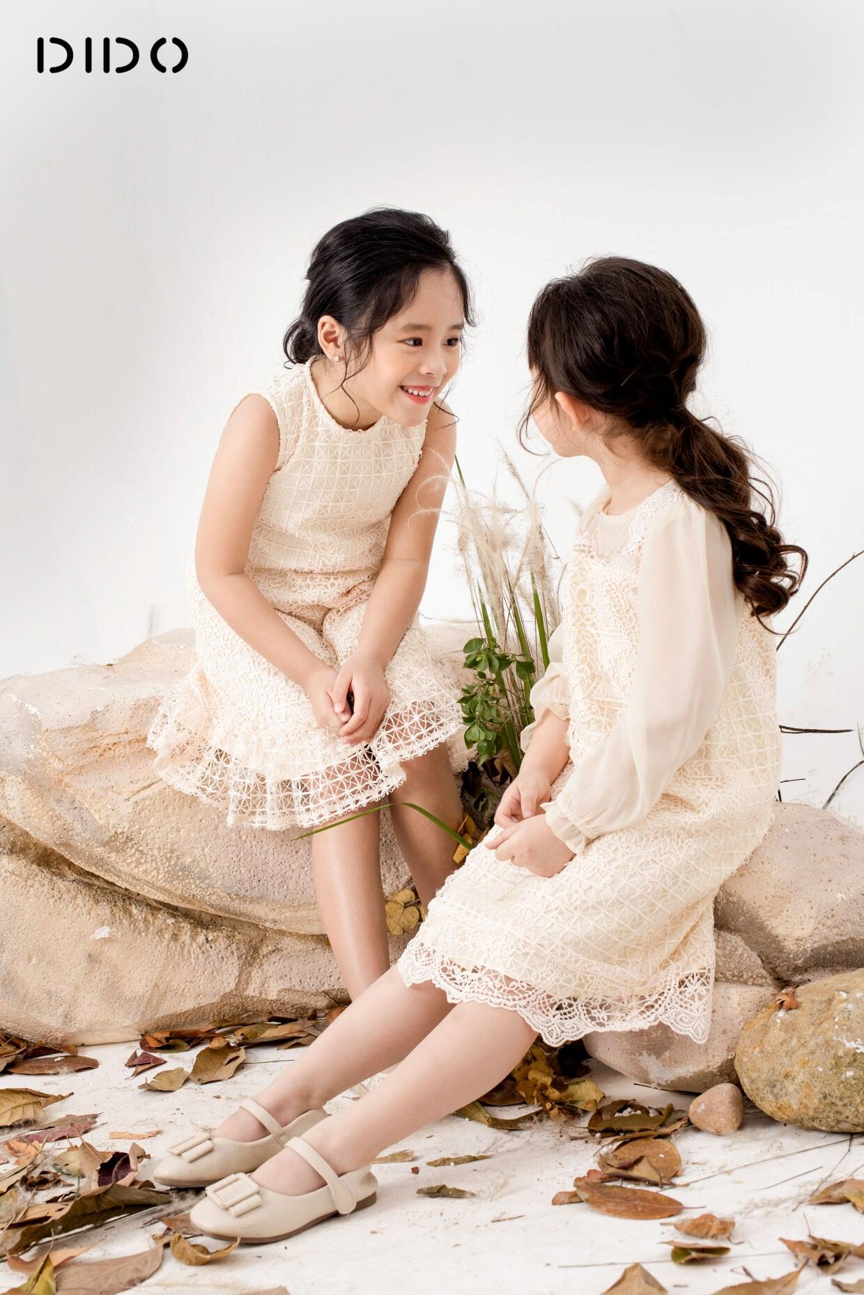 Váy Zen Đuôi Cá - Bé Gái