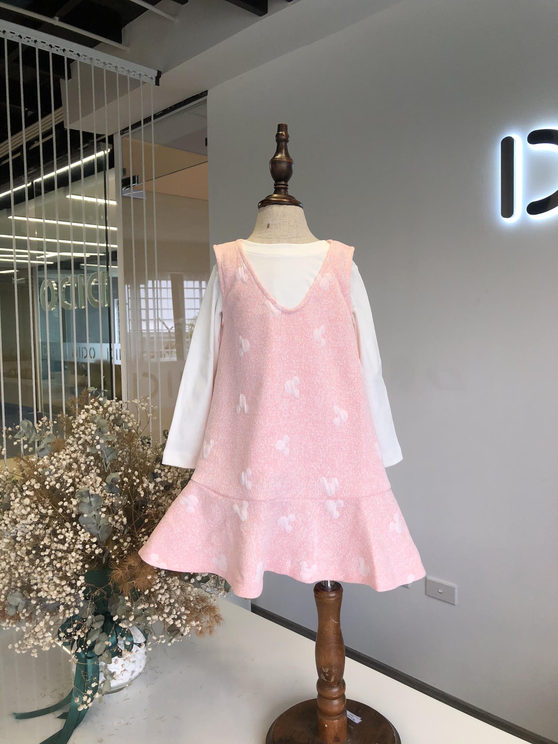 Đầm Không Tay Đuôi Cá - Bé Gái