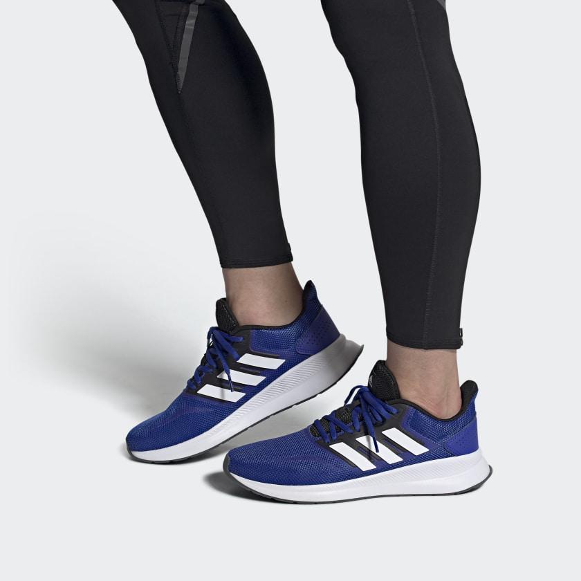 Giày Nam Adidas Chính Hãng - Falconrun - Blue/ White | JapanSport - FW5055