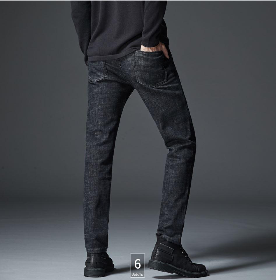 SP53 - Quần Jeans Xám Muối tiêu
