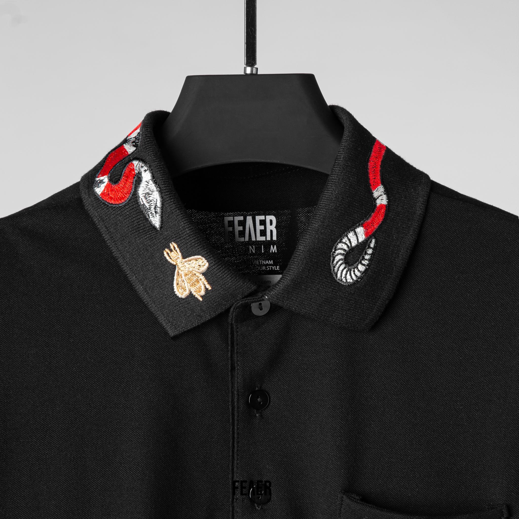 SP182 - Áo Polo Embroidered Collar