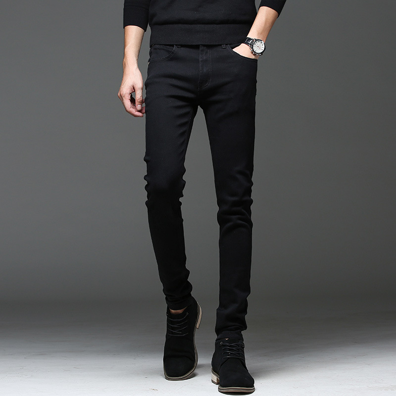 SP52 - Quần Jeans Đen Trơn