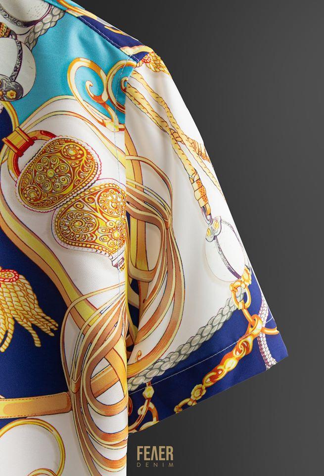 SP144 - Áo Sơ Mi Sleeve Baroque