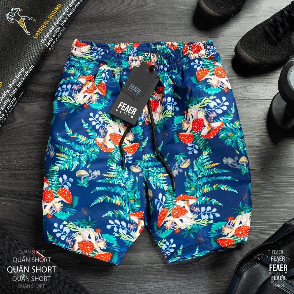 SP109 - Quần Printed Swimshort