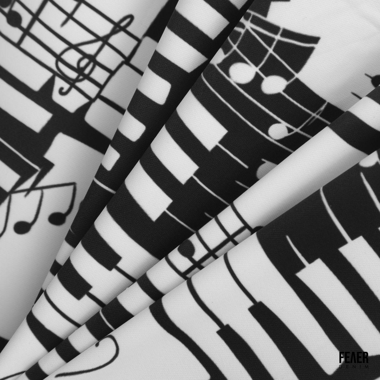 SP298 - Áo Sơ Mi Music Note