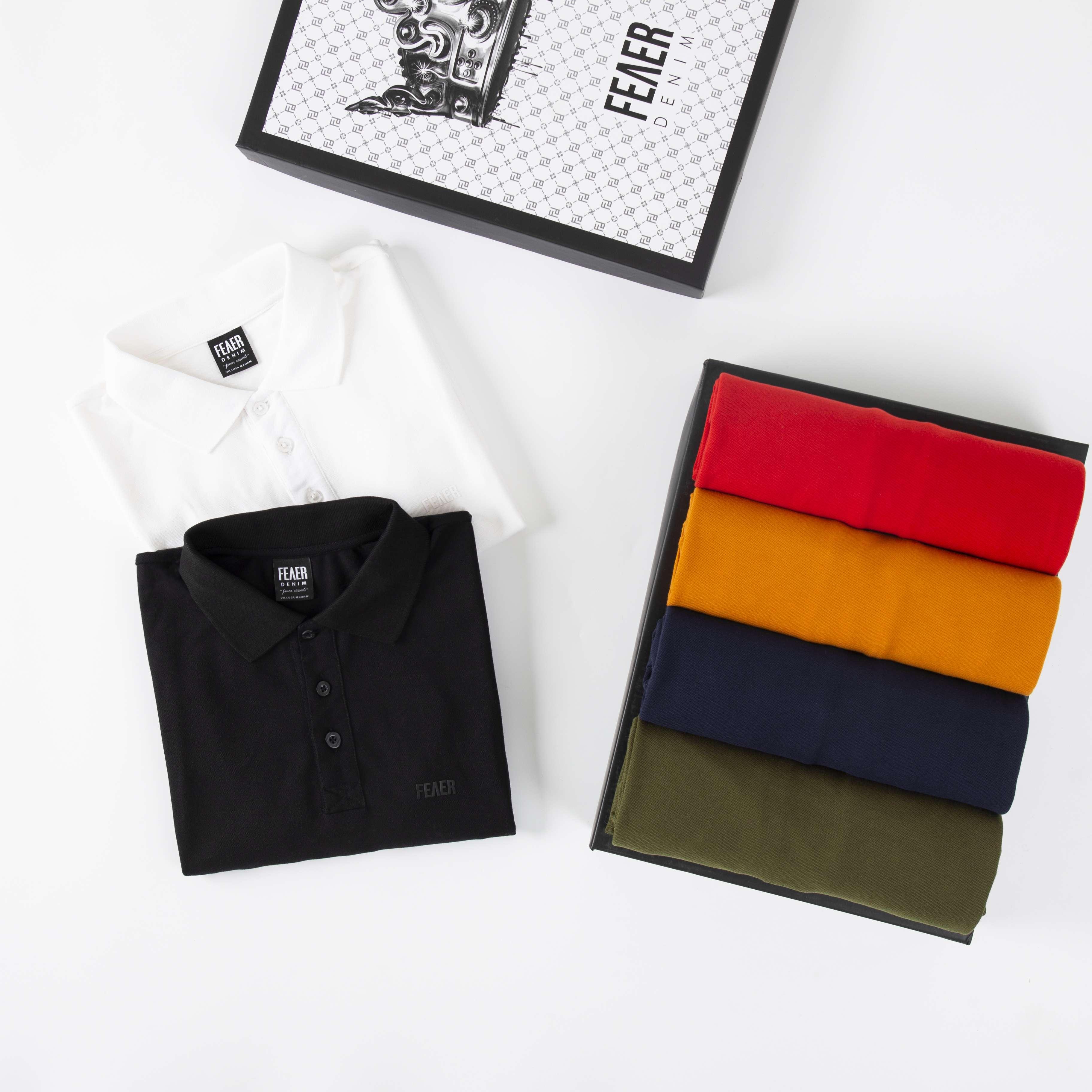 SP340 - Áo Polo Basic Premium Cotton