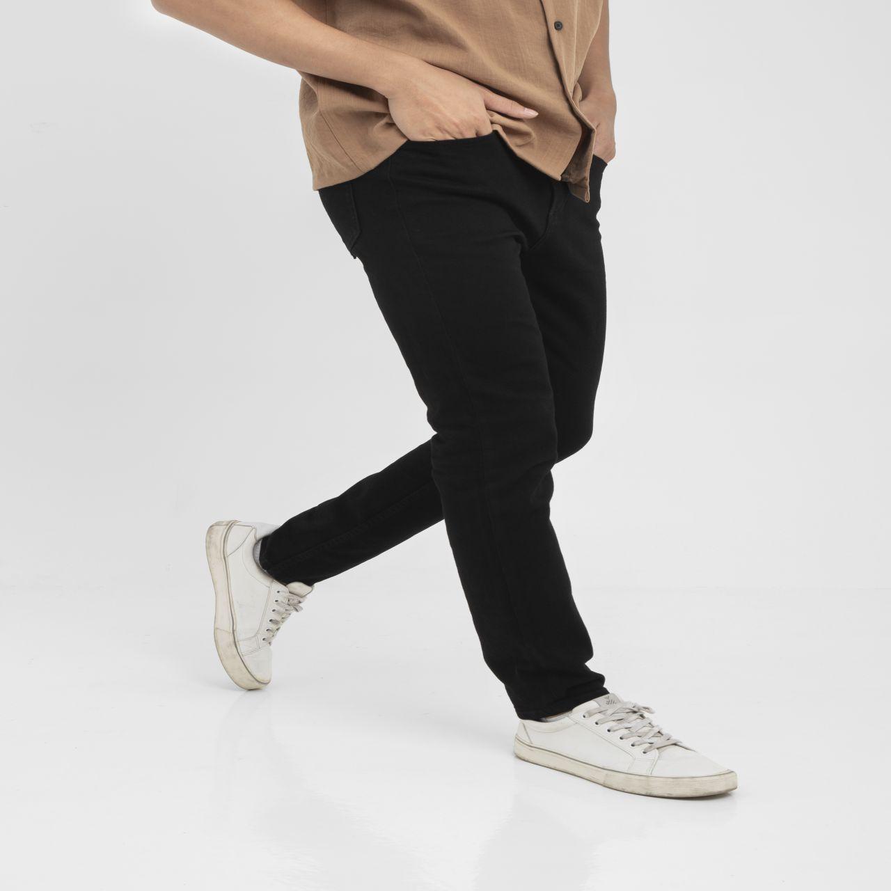 SP347 - Quần Jeans Basic Skinny Fit Black