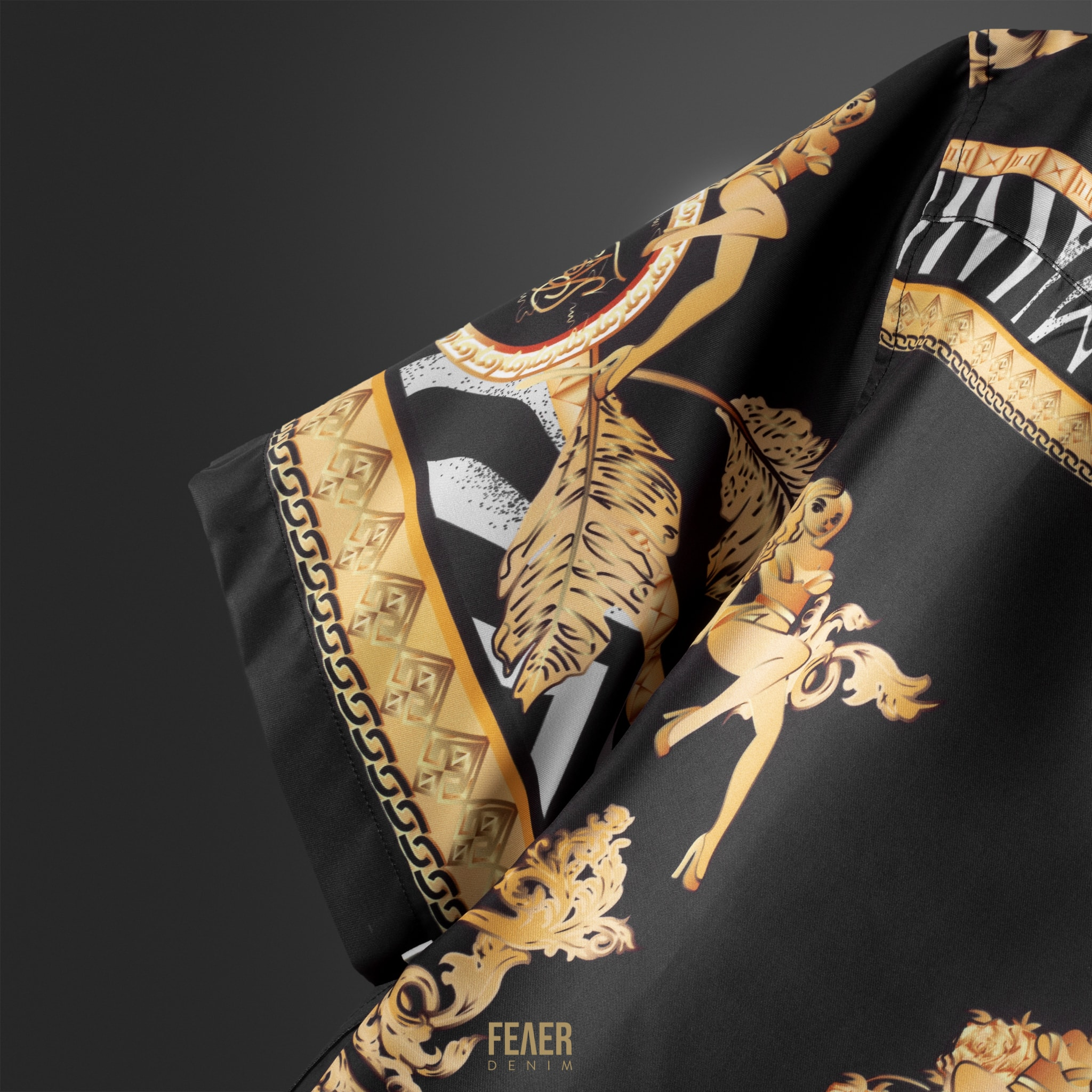 SP156 - Áo Sơ Mi Royal Black