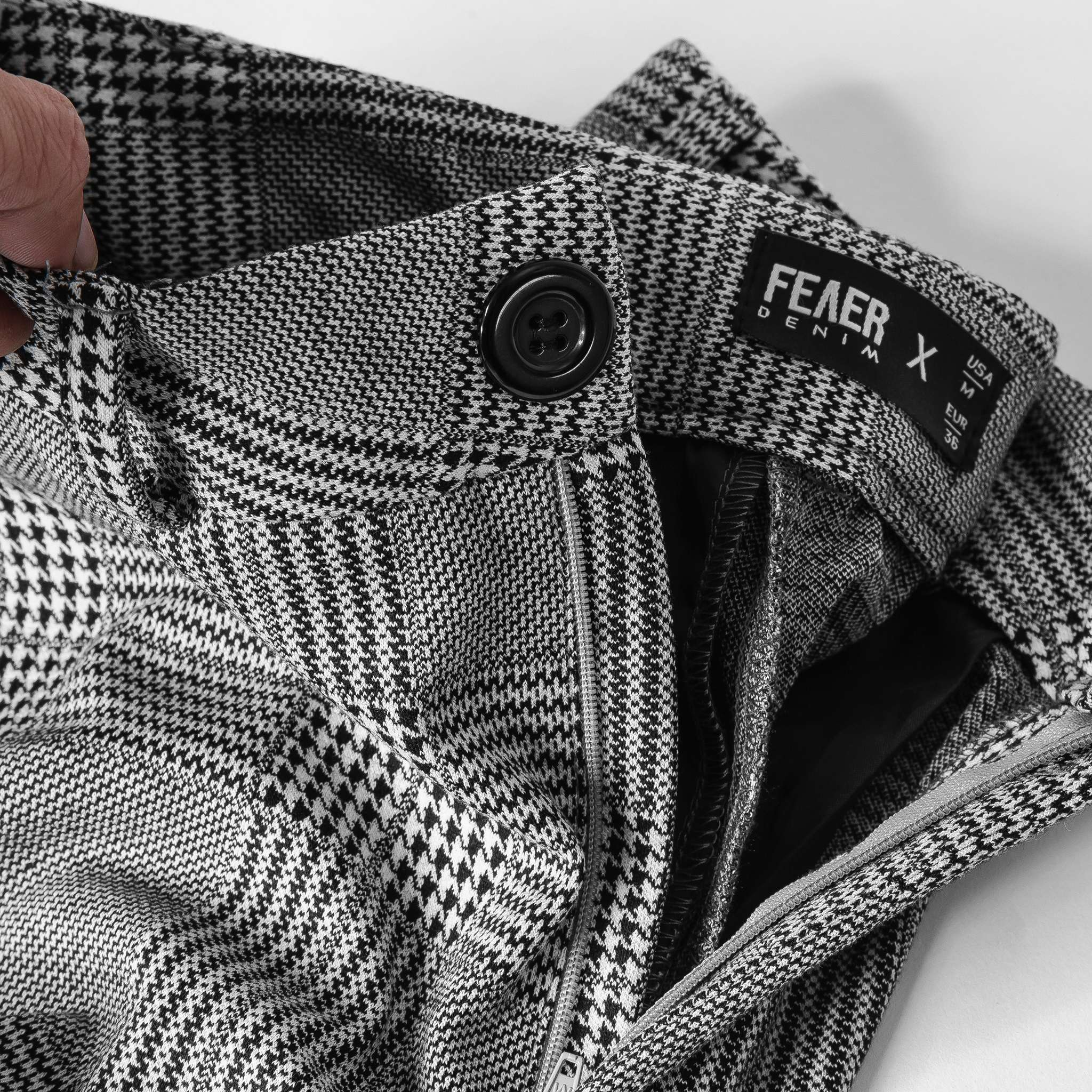 SP249 - Quần Wool Plaid Trousers