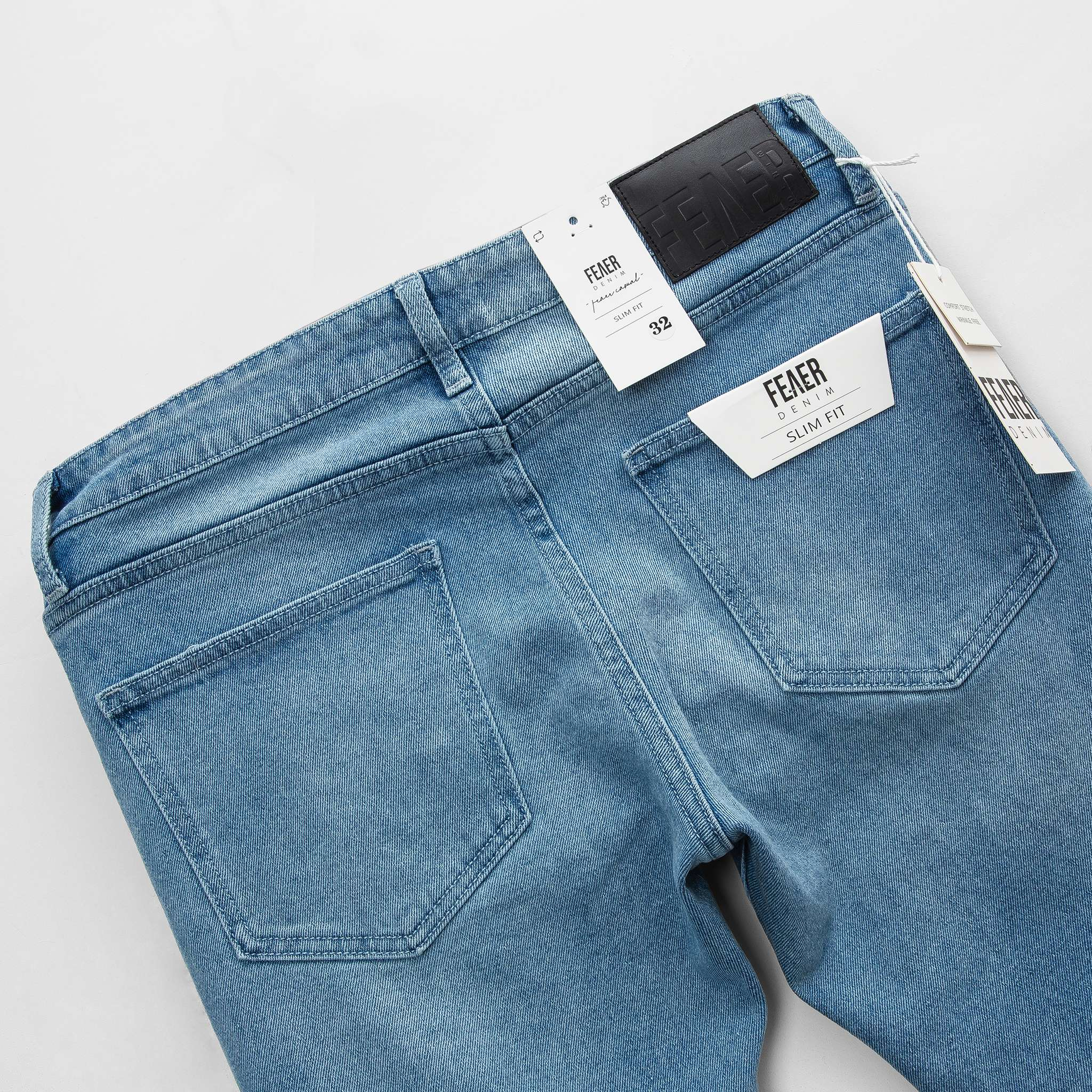 SP274 - Quần Jeans Skinny Butterfly Blue