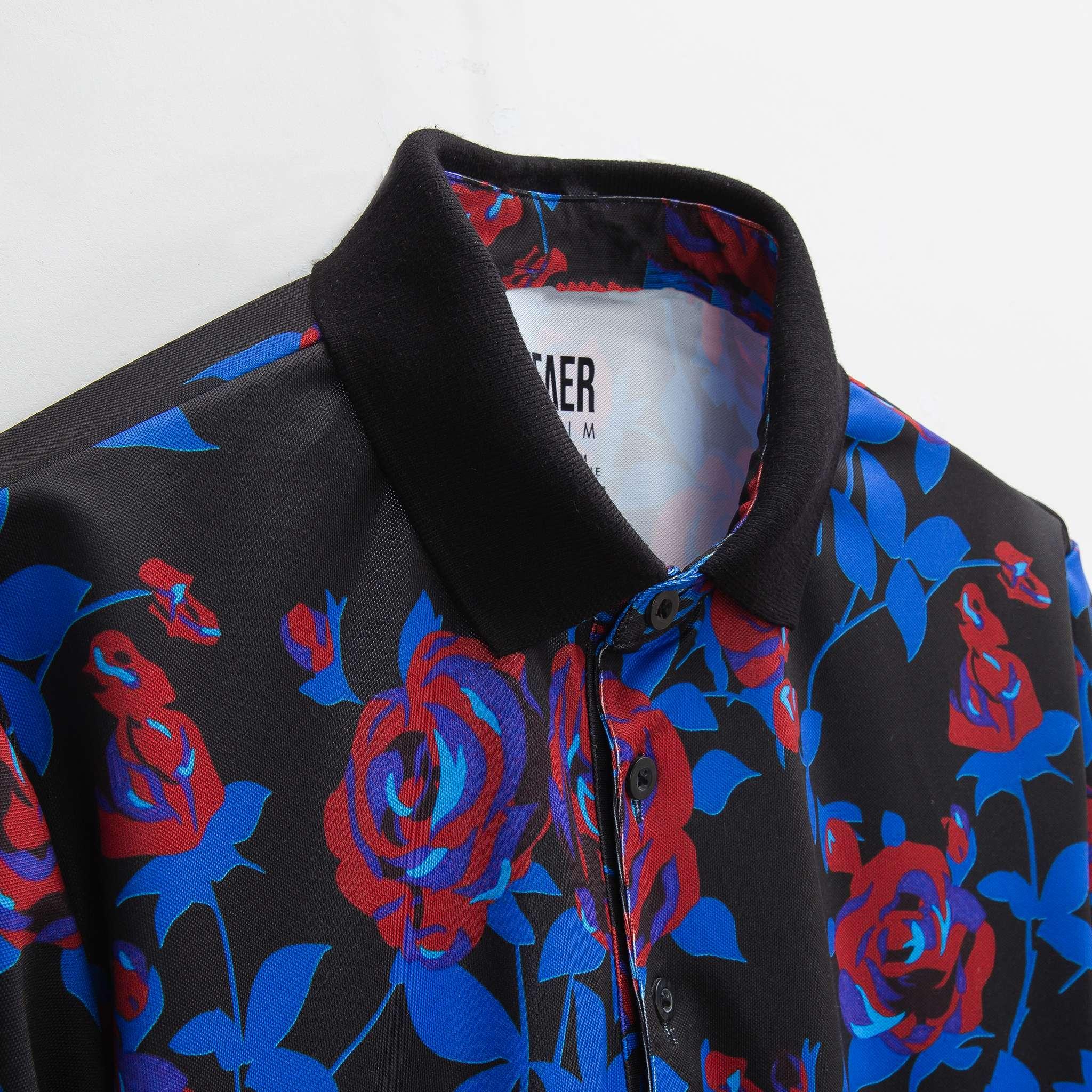 SP266 - Áo Polo Black Rosy