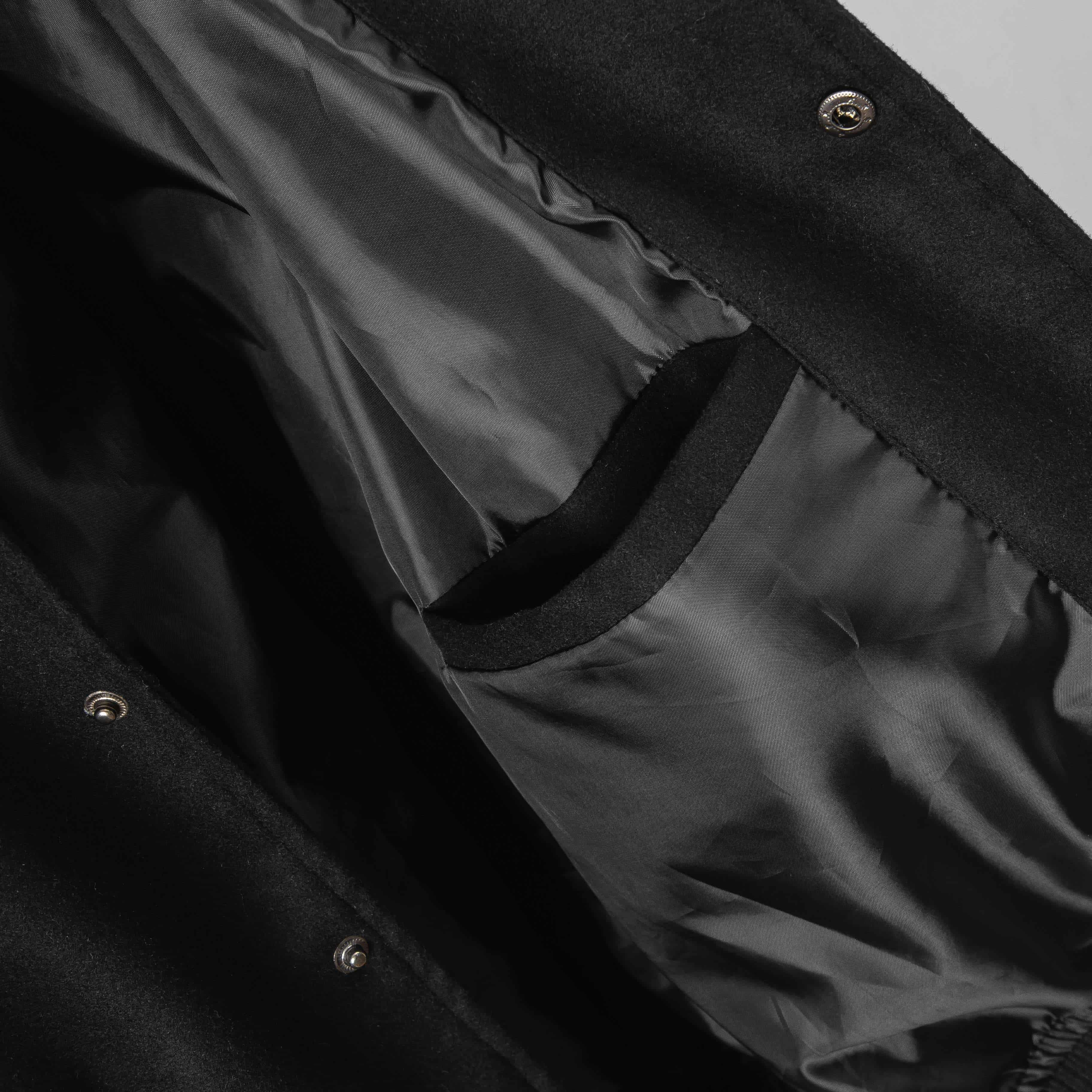 SP238 - Áo Khoác Bomber Felt & Leather