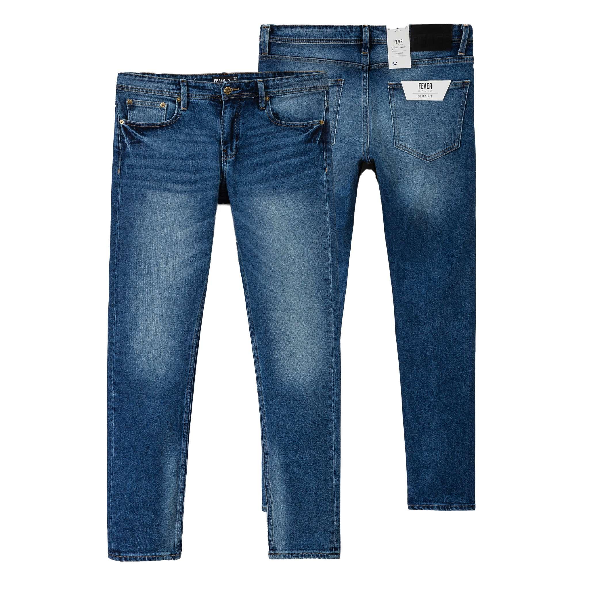 SP225 - Quần Jeans Skinny Dark-Blue