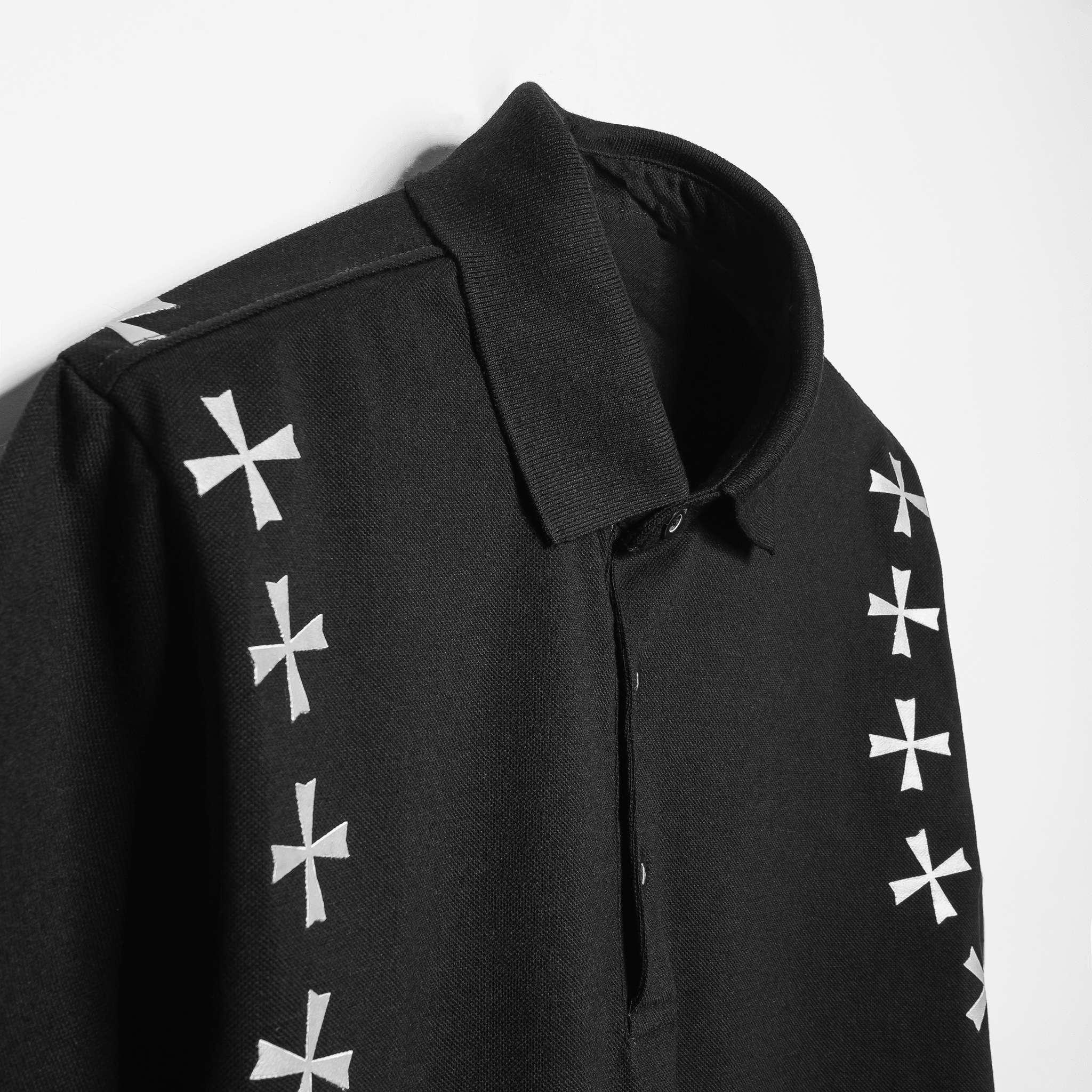 SP228 - Áo Polo Black Cross