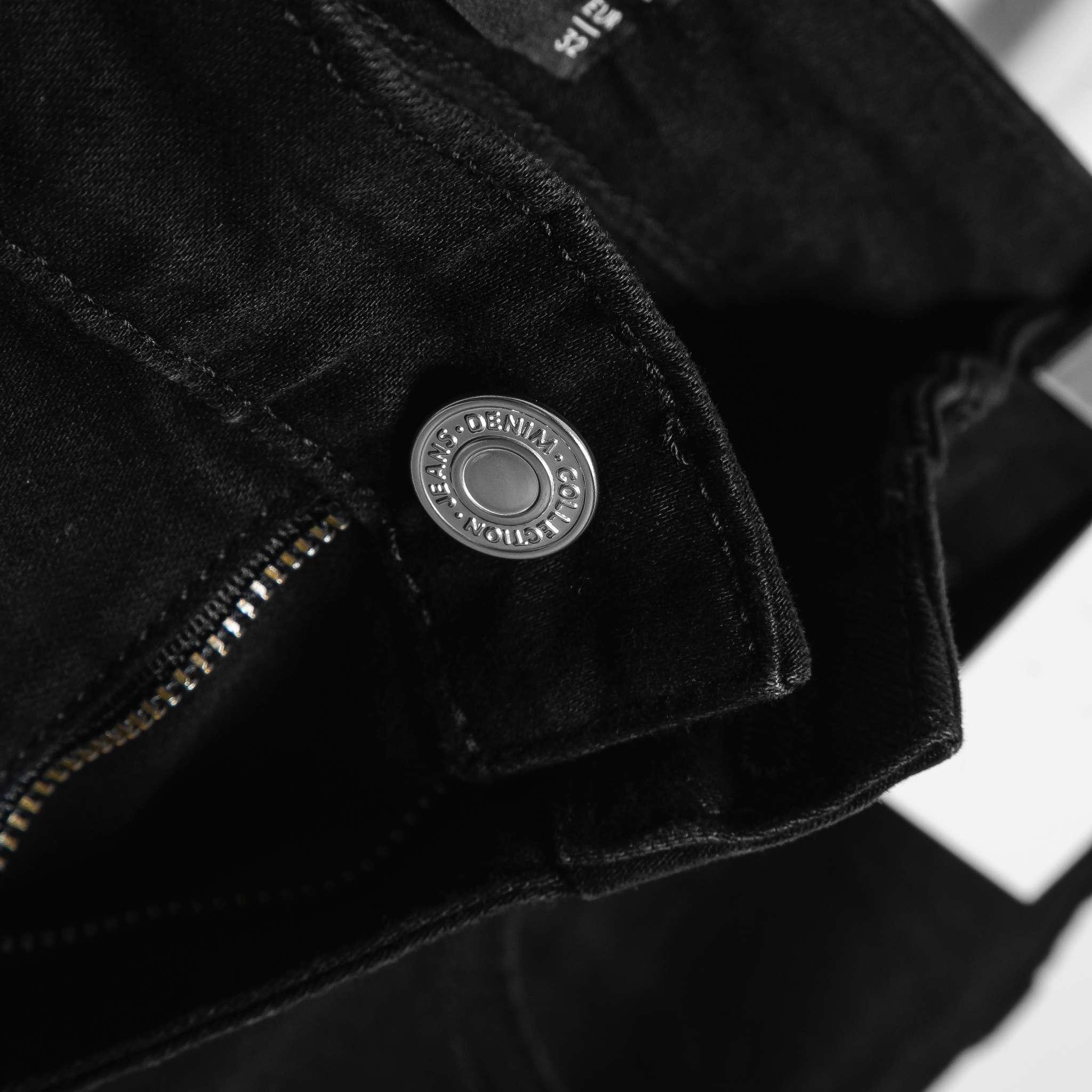 SP237 - Quần Jeans Skinny Black Ripped