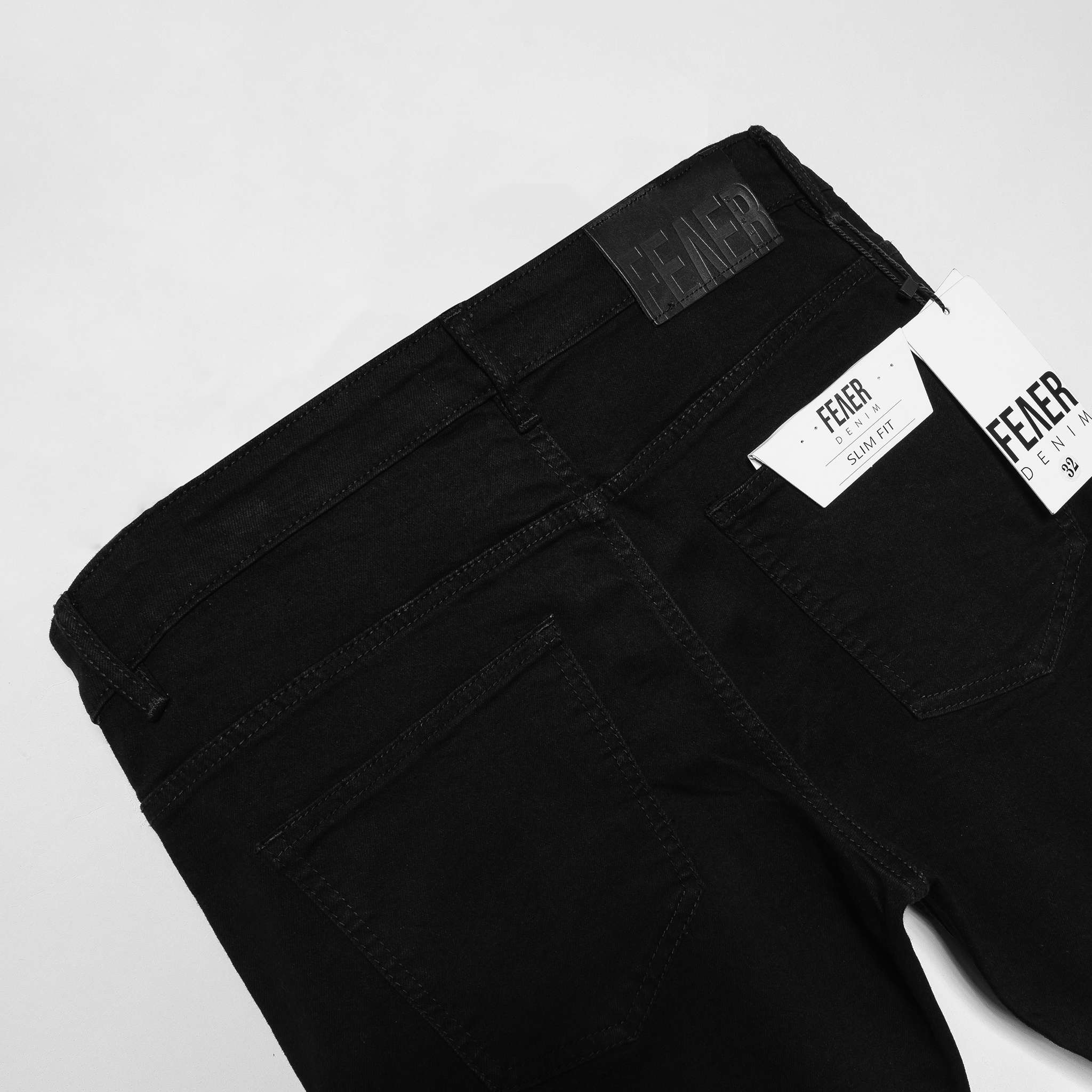 SP237 - Quần Jeans Skinny Black Ripped