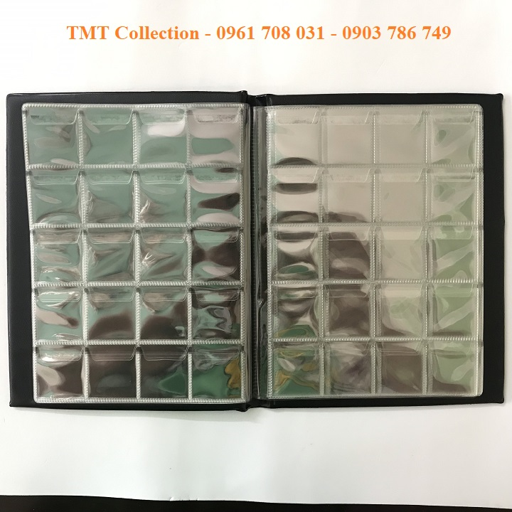 album đựng 200 xu không holder - TMT Collection