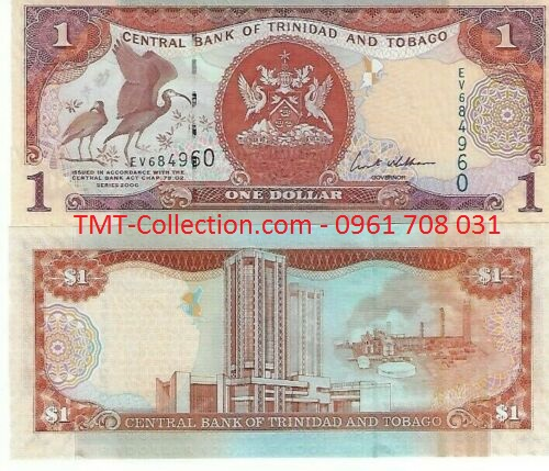 Trinidad and Tobago 1 Dollars 2006 UNC (tờ)