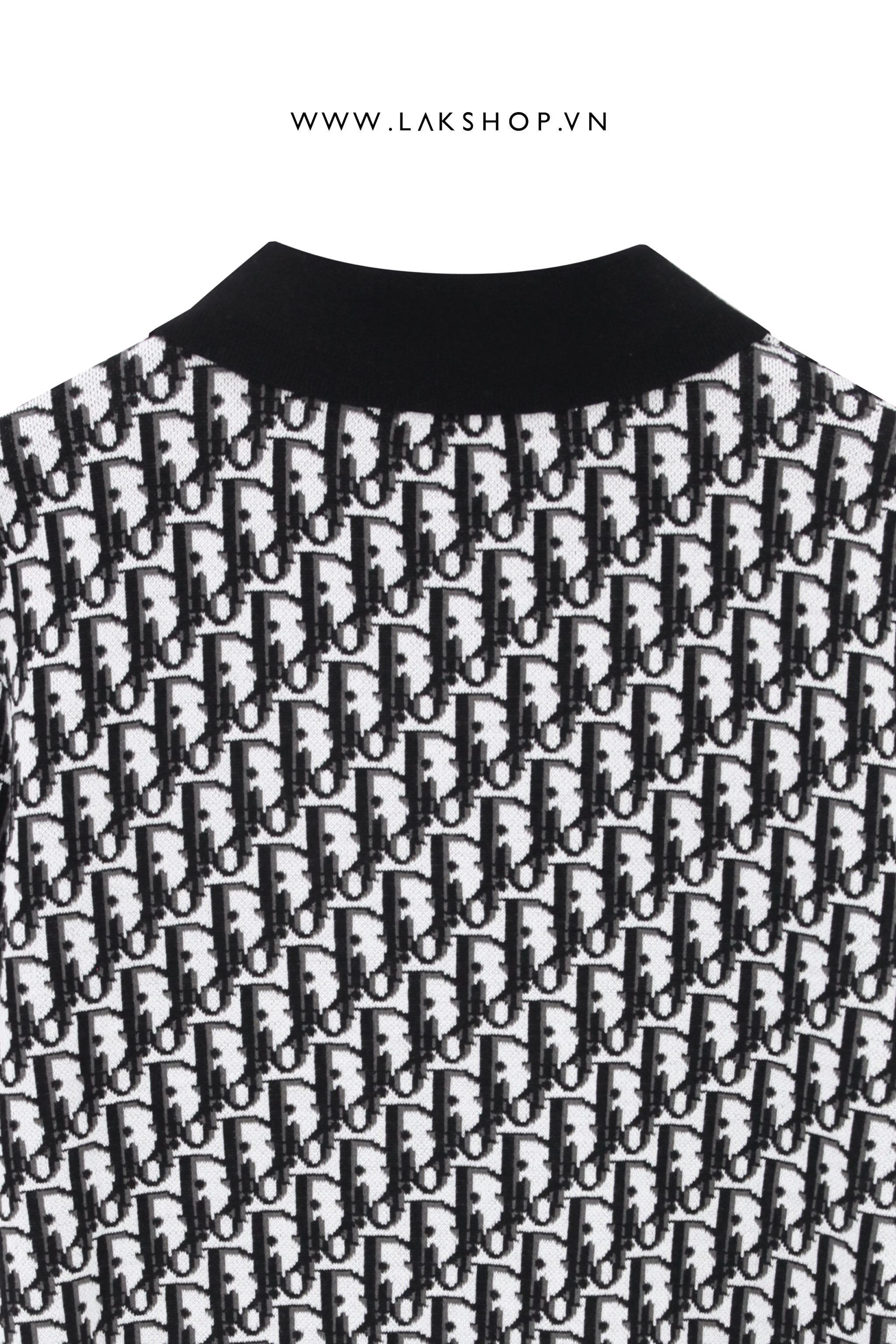 Balenciaga Embroidered Logo Black T-shirt